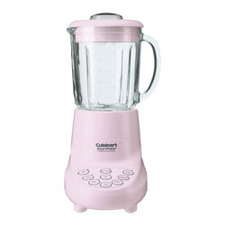 Cuisinart - Cuisinart SmartPower 7-Speed Electronic Blender Pink - Powerful motor with ice crush and pulse buttons