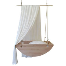 Contemporary Baby Swings And Bouncers by Salt Wood Company