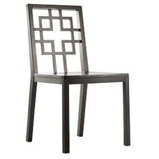 eclectic chairs by West Elm