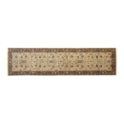 1800-Get-A-Rug - Pak Persian Oriental Rug Hand Knotted Rug Gallery Size Sh9612 - About Fine Oriental
