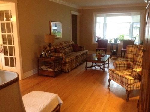 Transforming Living Room Into Dining Room/Living Room