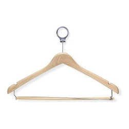 Honey Can Do Hotel Hangers with Locking Bar - Set of 24 - About Honey-Can-DoHeadquartered in Chicago, Honey-Can-Do is dedicated to helping you organize your life. They understand that you need storage solutions that are stylish and affordable at the same time. Honey-Can-Do focuses on current design trends and colors to create products that fit your decor tastes while simultaneously concentrating on exceptional quality. When buying a Honey-Can-Do product, you can be sure you are purchasing a piece that has met safety control standards and social compliance methods.