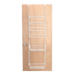 Panacea Prod.corp/grayline Hswre - Over-the-Door Large Pantry Rack - Over-the-door pantry rack easily mounts over a door or on a wall. Provides maximum storage even if you have a small space.