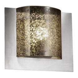Justice Design Group LLC - Justice Design Group FSN-5560 - Framed Square 3-Sided Wall Sconce (ADA) - Brushe - Shop for Wall Mounted Lighting and Sconces from Hayneedle.com! About Justice DesignEndless inimitable lighting that's what Justice Design deals in. More than 200 different shapes. More than 35 different finishes. That's a huge amount of customization -- right at your fingertips. Speaking of fingertips each fixture is painstakingly crafted by skilled artisans by hand. Whether you're looking for indoor or outdoor lighting residential or commercial Justice Design is sure to have just the right fixture to match your needs and personality.