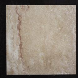 Travertine Tiles - 18x18 Arizona Red Honed & Filled Travertine - Travertine Tiles - 18x18 Arizona Red 18x18 Arizona Red Honed & Filled Travertine Honed & Filled Travertine tile