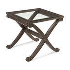 Bassett Mirror - Bassett Mirror Wellington II Rectangle End Table - Wellington II Rectangle End Table