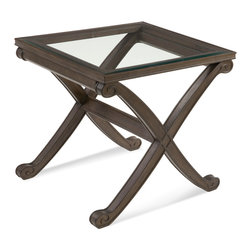 Bassett Mirror - Bassett Mirror Wellington II Rectangle End Table - Wellington II Rectangle End Table
