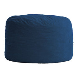Comfort Research - Comfort Suede Blue Sky 3 Ft Diameter Fuf Chair - All it takes is one sit to understand exactly why our one-of-a-kind Fuf Collection has brought bean bags out of your grandparent's dusty basement and into college campuses, bedrooms and living rooms around the world. With all sorts of sizes and colors available, all perfectly filled with our patented memory foam, the hardest part about sitting down on any Fuf is convincing yourself it's time to get up. Please note this item requires an additional shipping timeline of 10-14 days.