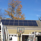 REVCO Solar Jobs - Residential solar job on North Fork of Long Island. Photo by Adam Williams for REVCO Lighting + Electrical Supply, Inc.