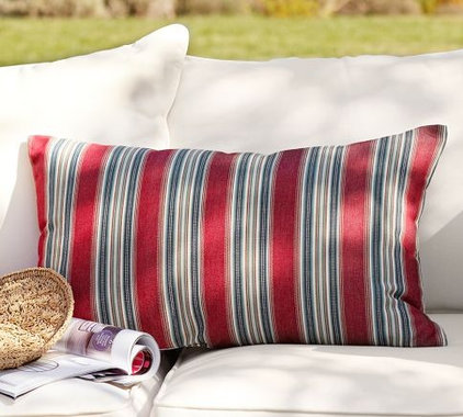 modern outdoor pillows by Pottery Barn