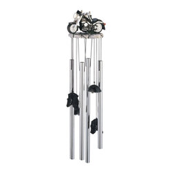 GSC - Wind Chime Round Top Motorcycle Hanging Garden Decoration Windchime - This gorgeous Wind Chime Round Top Motorcycle Hanging Garden Decoration Windchime has the finest details and highest quality you will find anywhere! Wind Chime Round Top Motorcycle Hanging Garden Decoration Windchime is truly remarkable.