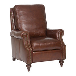 Hooker - Seven Seas Seating Savannah Davenport Recliner Chair - Seven Seas Seating specializes in recliners and accent chairs for the living room and office. Chairs are primarily made with rich, soft leather but there's also a nice selection of fabrics and fabric/leather combinations. Each chair or sofa by Seven Seas Seating is hand-crafted by world-class furniture producers working to rigorous standards mandated by Seven Seas.