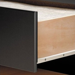 """Prepac - Sonoma Storage Platform Bed - Imagine a 6-drawer dresser built right into the frame of your bed. Then, imagine it with extra deep 19 inches drawers. That's enough to hold all your socks, underwear, extra blankets, sheets, linen supplies, sweaters, crafts or games. This stylish Captain's Bed, available in double or queen size, has six spacious drawers (three per side for each occupant) which are ideal for storing bed linens and clothes. Drawers run smoothly on metal roller glides and open easily with finger-pulls on the bottom of the drawer fronts instead of handles. This gives the beds a clean look and ensures that your bed clothes don't catch on the drawers when you get out of bed. An attractive and trendy furniture line without the trendy prices. The Sonoma Collection has the look and feel of much more expensive millwork. But it doesn''t just look good, it costs less! Thoughtful engineering and intelligently grouped production let you enjoy pricing that's well below the costs of traditional case goods. Durable laminated engineered woods with contoured edges and molded trim, along with brushed nickel knobs give this ready to assemble collection a simple elegance. Features: -All-metal roller glides for smooth opening.-Constructed for standard mattress use.-Mattress sits about 2'' into the frame.-Constructed of composite woods and easy-to-clean Melamine laminate.-Distressed: No.-Collection: Sonoma.-Country of Manufacture: Canada.Dimensions: -Twin: 18.75"""" H x 41"""" W x 76.5"""" D.-Double: 18.75"""" H x 57"""" W x 76.5"""" D.-Queen: 18.75"""" H x 63"""" W x 81.5"""" D.-Overall Product Weight: 174.75 lbs. About the Manufacturer: About Prepac: Founded in 1979, Prepac Manufacturing is a state-of-the-art manufacturer of home furnishings and storage products with its main manufacturing factory located in the heart of the forest-rich province of Brit'sh Columbia, Canada. Prepac is now one of the largest producers of ready to assemble furniture in Canada, with full-service representation t"""