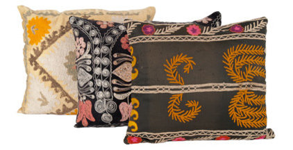 Eclectic Pillows by jaysonhomeandgarden.com
