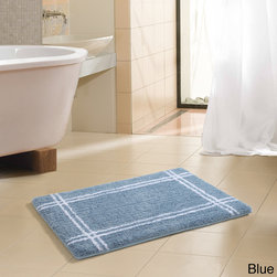 None - Traverse Hotel Microfiber Memory Foam 20 x 30 Bath Mat - The Traverse Hotel microfiber memory foam rug has a simple, yet sophisticated design. The top fabric is ultra soft and absorbs water twice as fast as other material slip-resistant base. The non-slip bottom keeps the rug in place.