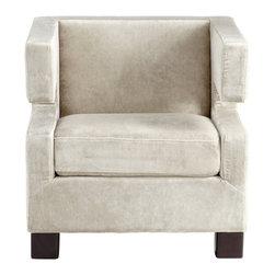 Silver Slipper Velvet Chair - *I Hug- U Chair