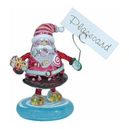 WL - 3.75 Inch Party Kitchenware Winter Santa Claus Name Place Card Holder - This gorgeous 3.75 Inch Party Kitchenware Winter Santa Claus Name Place Card Holder  has the finest details and highest quality you will find anywhere! 3.75 Inch Party Kitchenware Winter Santa Claus Name Place Card Holder  is truly remarkable.
