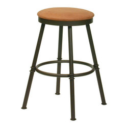 Trica - Trica Sal Swivel Backless Bar Stool, 30 Inches (Bar Height) - *Available in counter, bar or spectator height
