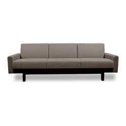 Paddington Grey-Brown 3-Seat Sofa