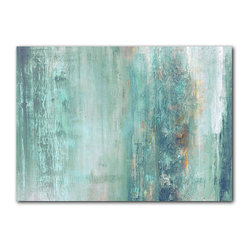 READY2HANGART.COM - Ready2hangart Alexis Bueno Abstract Canvas Wall Art - This abstract canvas art is the perfect addition to any contemporary space. It is fully finished, arriving ready to hang on the wall of your choice.