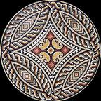 Custom Designed Handcut Roman Marble Mosaic Medallions - Custom Designed and handcrafted Marble Mosaics Medallion Tiles