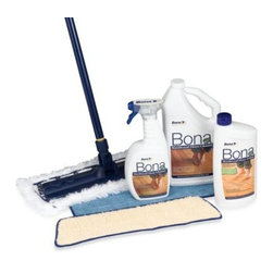 Bona - Bona Ultimate Hardwood Floor Care System - The Bona ultimate hardwood floor care system includes everything you need for dusting, cleaning and overall improving the look of your hardwood floor.