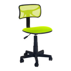 Simple Office Chair Swivel  Chair Gaming Chair, Green - Product Description: