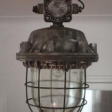 Contemporary Pendant Lighting by worksberlin.original vintage industrial furniture