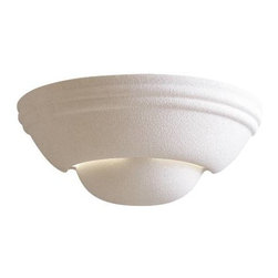 "Minka Lavery - Minka Lavery 351 5"" 1 Light Wall Sconce in White Ceramic 351 - Medium BaseBulb Included: No Bulb Type: Incandescent Energy Star Compliant: No Extension: 6 Finish: White Ceramic Glass Shade: White Ceramic Height: 5 Light Direction: Up Down Lighting Number of Lights: 1 Style: Transitional Suggested Room Fit: Bathroom Foyer Wattage: 100 Weight: 1.76 Width: 12-1 4"