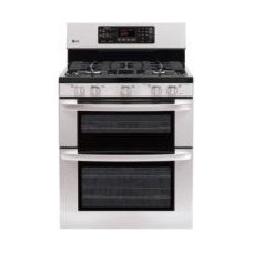 LDG3016ST by LG in New Rochelle, NY - 6.1 cu. ft. Capacity Gas Double Oven Range