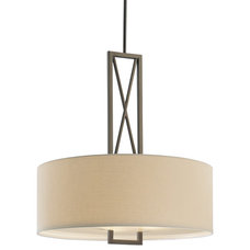 Modern Lighting Drum Pendant for over Kitchen table