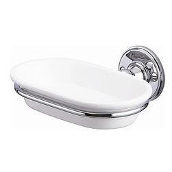 Burlington Soap Dish - Burlington Soap Dish, traditional style, chrome finish.