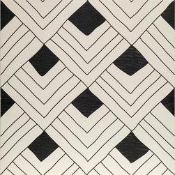 Artistic Tile | Tangle | Porcelain Collection - Fish Black & White