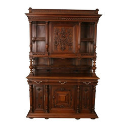 EuroLux Home - Consigned Antique 1900 French Walnut Renaissance - Product Details