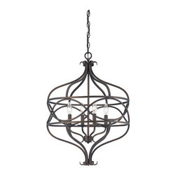 Savoy House - Savoy House 7-4351-4 Society Collection 4 Light Multi Light Pendant - Features: