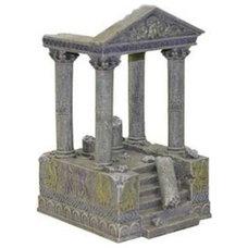 Amazon.com: Exotic Environments Temple Ruins & Steps Aquarium Ornament, 4-1/2-In