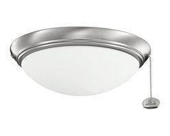 Kichler Lighting - Kichler Lighting Basic Low Profile 52-56 Ceiling Fan Light Kit X-SSB221083 - Kichler Lighting Basic Low Profile 52-56 Ceiling Fan Light Kit X-SSB221083