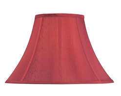 """Dolan Designs - Sangria Round Bell Soft Back Shade 8"""" Top x - This stylish full-sized lamp shade is designed to be matched with full-sized mix-and-match lamp bases by Dolan Designs. Dolan Designs proudly presents the latest in lighting excellence. Each lamp shade in our mix and match program is a statement of style and beauty without sacrificing affordability. By combining this lamp shade with our coordinating lamp bases you can create your own unique look from dozens of possible combinations. We invite you to experience mix and match lighting from Dolan Designs for yourself."""