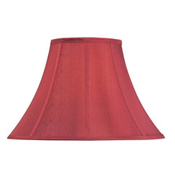 "Dolan Designs - Sangria Round Bell Soft Back Shade 8"" Top x - This stylish full-sized lamp shade is designed to be matched with full-sized mix-and-match lamp bases by Dolan Designs. Dolan Designs proudly presents the latest in lighting excellence. Each lamp shade in our mix and match program is a statement of style and beauty without sacrificing affordability. By combining this lamp shade with our coordinating lamp bases you can create your own unique look from dozens of possible combinations. We invite you to experience mix and match lighting from Dolan Designs for yourself."