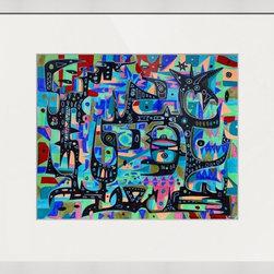 Kourosh Amini - Original Art Works By Kourosh Amini, La Farfala - Artist: Kourosh Amini