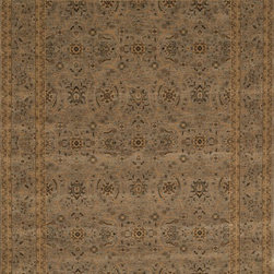 """Loloi Rugs - Loloi Rugs Stanley Collection - Steel / Steel, 2'-6"""" x 7'-9"""" - The magnificent Stanley Collection features modern interpretations of the most sophisticated hand knotted designs. Recreated in Egypt with power loomed technology these gorgeous polypropylene area rugs offer an affordable alternative."""