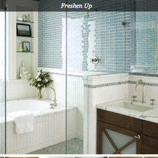 "Bathroom ""Traditiona'"" Bath; California Home Design's Inspiration Rooms"