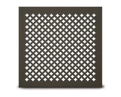 204 Clover Leaf Perforated Grille -