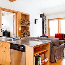Contemporary Kitchen by Rikki Snyder