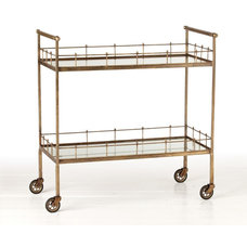 Contemporary Bar Carts by Zinc Door