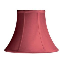 Laura Ashley - Laura Ashley Charlotte 11 in. Red Bell Shade SBL01311 - Shop for Lighting & Fans at The Home Depot. Founded in 1953, Laura Ashley has become a quintessential English brand, synonymous with quality, creativity, and individuality. Laura Ashley products are recognized worldwide for their colorful patterns and iconic floral prints. This red Laura Ashley lamp shade is made of raw silk, and will be a vibrant addition to any room.
