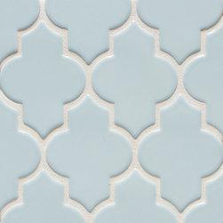 Vibe Ashbury Mosiac Field in Powder Blue - Ceramic and Terracotta