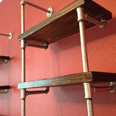 Industrial Display And Wall Shelves  by Industrial Envy, LLC