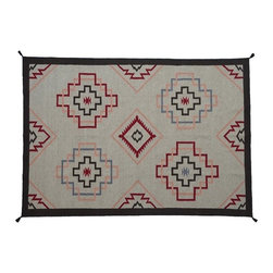 1800-Get-A-Rug - Reversible Navajo Design Hand Woven Flat Weave Sh8259 - About Flat Weave
