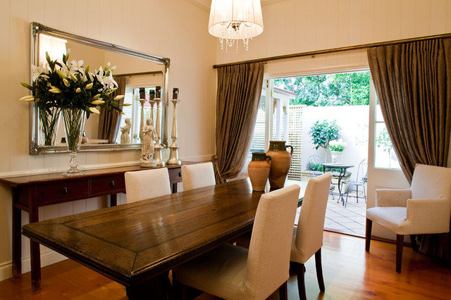 Traditional Dining Room by Charcoal Interiors